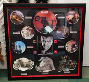 Meatloaf Record Frame