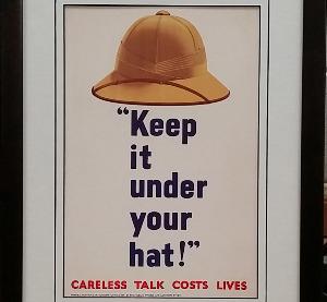 WWII Propoganda Poster